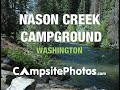 Nason Creek Campground, Wenatchee National Forest, Washington Campsite Photos
