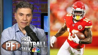 How much will Tyreek Hill's absence impact KC's offense? | Pro Football Talk | NBC Sports