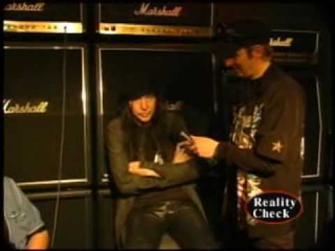 Motley Crue's Mick Mars at NAMM '07