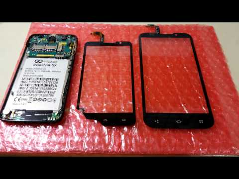 GoClever Insignia 5X - Wrong digitizer