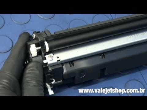 Vídeo Recarga Toner HP CC530A    CP2025   CM2320 - Vídeo Aula Valejet.com