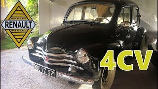 Renault 4cv un classic de 1956 - presentation et essai