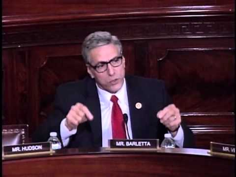 Rep. Barletta questions DHS Sec. Jeh Johnson on Amnesty 12-2-14