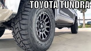 "TOYOTA TUNDRA 2018 - Spacer Leveling Lift Kit BMC 35"" Tires"