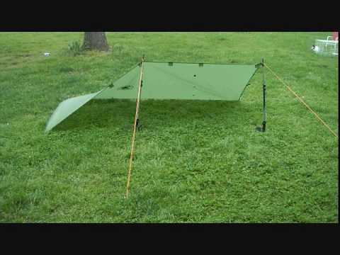 Ultralight Backpacking Tarp/Poncho Tent