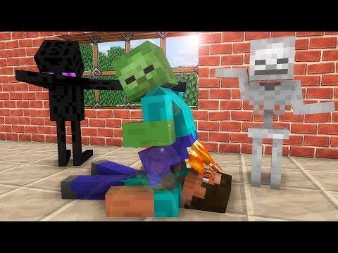 Monster School: Dance  - Minecraft animation