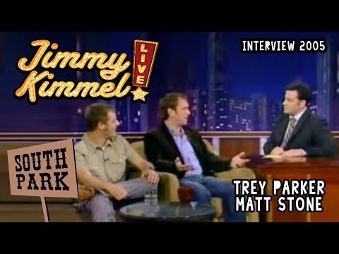 Trey Parker & Matt Stone on Jimmy Kimmel LIVE 14/10/2005