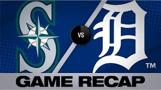 Seager, Murphy go back-to-back twice in win | Mariners-Tigers Game Highlights 8/13/19