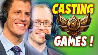 CaptainFlowers & Azael Casting a BRONZE Game | #LeagueOfLegends