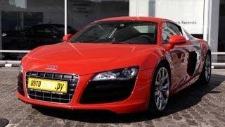 Audi R8. Тест-драйв