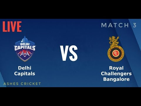 IPL 2019 DC VS RCB LIVE   IPL Gaming Series 2nd Edition   Ashes Cricket   RCB CAMPAIGN MATCH 3