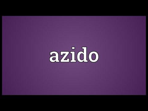 Header of azido