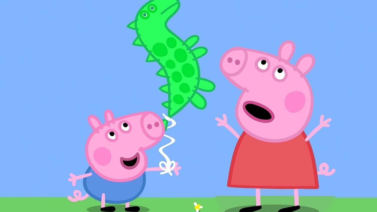 Peppa Pig English Episodes 🎄 Visiting Grandpa Pig and Grandma Pig ...