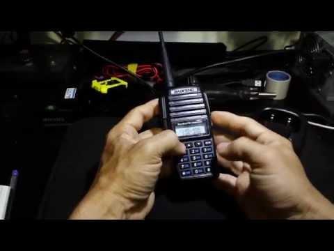 Tutorial - Programar o Baofeng UV-82 / UV-5r