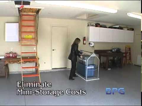 Best Garage Attic Lift System Youtube