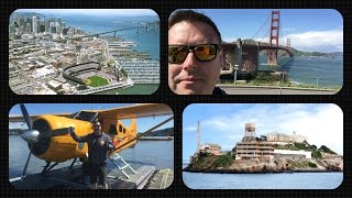 Las Vegas Vlog / Day 7 / A Day In San Francisco (Golden Gate Bridge,Seaplane Flight & Alcatraz)