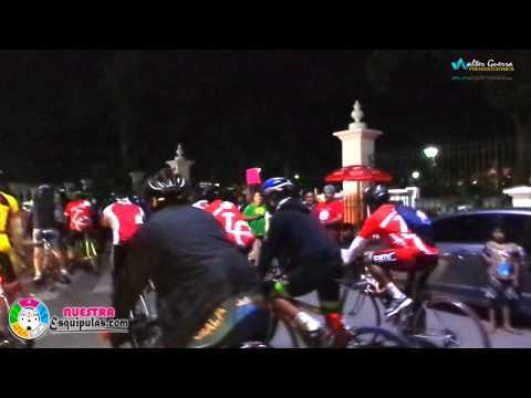 Esquipulas, Peregrinacion Ciclistica llega a Esquipulas 2015