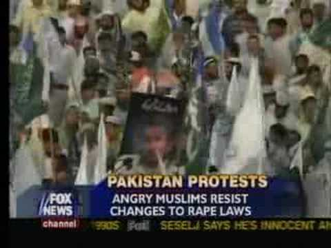 Change In Pakistani Rape Law Angers Muslims video