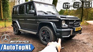 Mercedes G63 AMG REVIEW POV Test Drive by AutoTopNL
