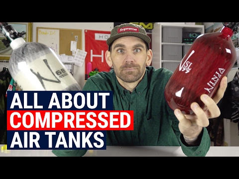 Compressed Air Tanks: Best Sizes. Weights. Shots and More!