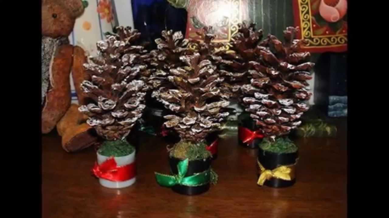 Поделки из шишек для детского сада своими руками фото