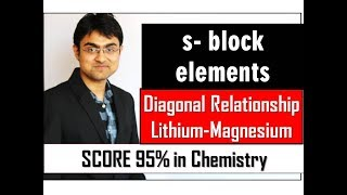 s-block Elements - Diagonal Relationship of Li and Mg(Part 6)