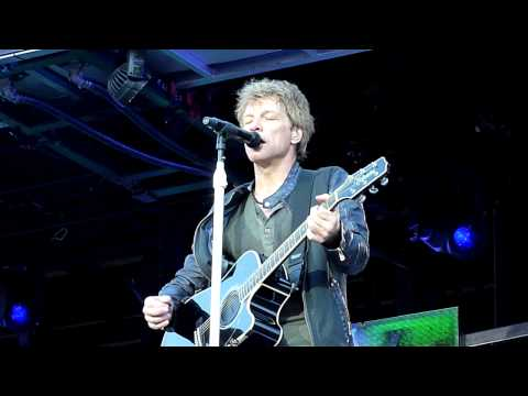 Bon Jovi The radio saved my life tonight Stuttgart 21.06.2013
