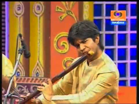 Carnatic Flute - J.A.Jayanth Presents - Bhajare Yadunatham - Bhajan -Peelu