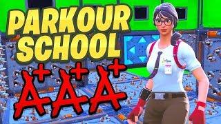 I went to PARKOUR SCHOOL in Fortnite!