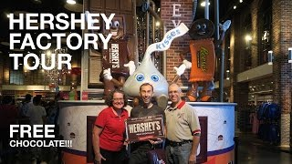 FREE Hershey Chocolate Factory Tour | Hershey, PA