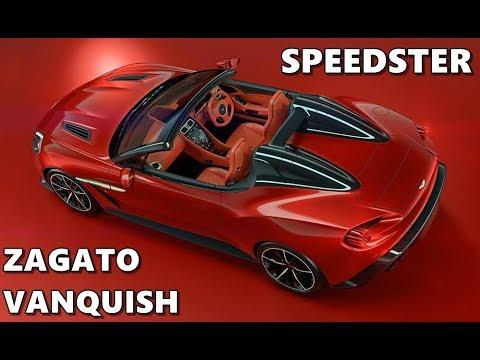 Aston Martin Vanquish Zagato Speedster And Shooting Brake