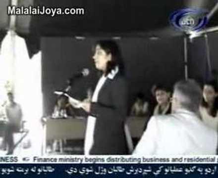 دولت ایتالیا جایزه حقوق بشر سال 2007 را به ملالی جویا داد