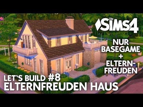 Die Sims 4 Haus bauen | Elternfreuden Familienhaus #8: Garten & Bad (deutsch)