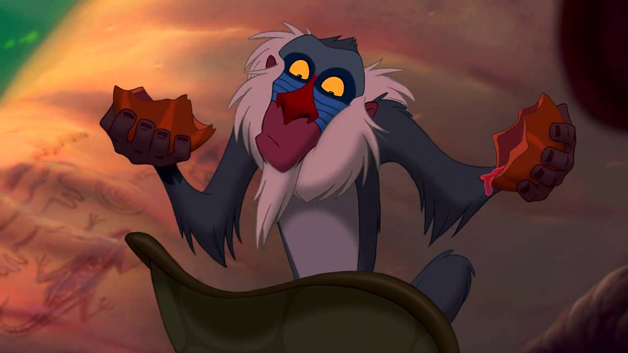 The Lion King Rafiki Learns Simba is Alive HD - YouTube Lion King Rafiki