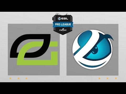 CS:GO - OpTic vs. Luminosity [Overpass] Map 2 - ESL Pro League Season 5 - NA Matchday 19