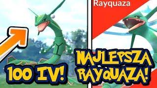 PERFECT RAYQUAZA! 2604 CP CAUGHT ON LIVE STREAM! POKEMON GO LIVE!