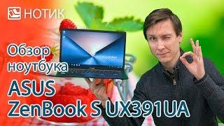 Подробный обзор ноутбука ASUS ZenBook S UX391UA: тише едешь - дальше будешь