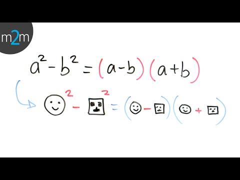 Diferencia de cuadrados - HD