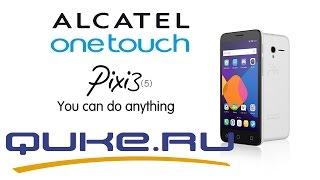 Обзор  Alcatel PIXI 3(5) 5065D ◄ Quke.ru ►