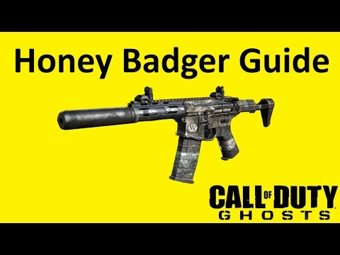 Honey Badger Assault Rifle Weapon Guide Call of Duty Ghosts Best Soldier Setup
