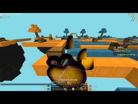 Minecraft Review Server NO PREMIUM 1.8    Skywars de Nerocraft