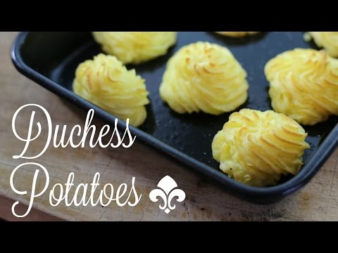 Duchesse Potatoes Recipe - A Great Way To Cook Potatoes