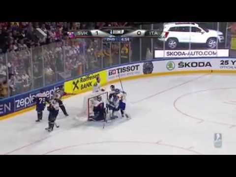 чм по хоккею 2017 Словакия Италия