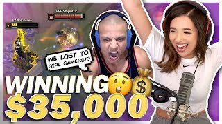 WINNING $75,000 TOURNAMENT! Twitch Rivals Finals Ft. Tyler1, Imaqtpie, Shiphtur - Pokimane
