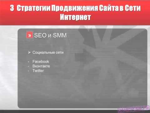 стратегии продвижения товаров в сети интернет
