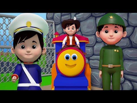 Bob il treno   Yankee Doodle per bambini   rime in italiano   bambini canzone   Bob Yankee Doodle