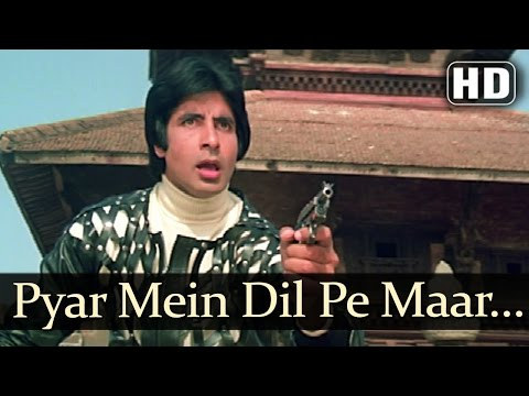 Pyar Mein Dil Pe - Amitabh Bachchan & Zeenat Aman - Mahaan - Superhit Hindi Songs - R.D.Burman