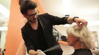 DOBI Hair Tutorial - Martin`s perfektes Blond