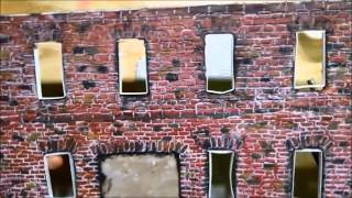 How to make bricks for diorama  buildings part # 1