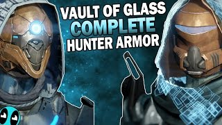 Complete Vault of Glass Hunter Armor with NEW Ornaments!